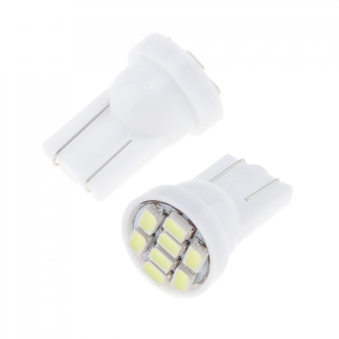 20 12V W5W T10 194 168 2825 501 192 158 White LED Side Car Wedge Light Lamp Bulb 5