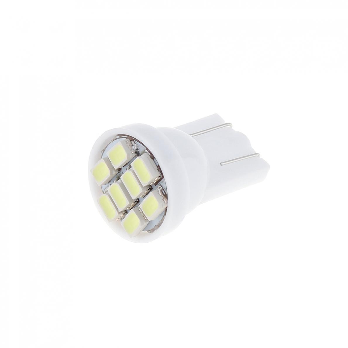 20 12V W5W T10 194 168 2825 501 192 158 White LED Side Car Wedge Light Lamp Bulb 6