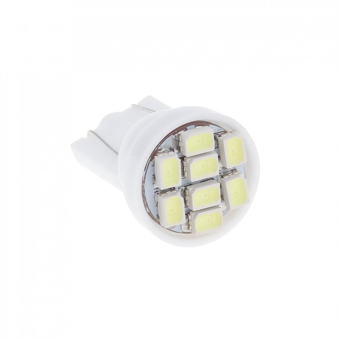 20 12V W5W T10 194 168 2825 501 192 158 White LED Side Car Wedge Light Lamp Bulb 8