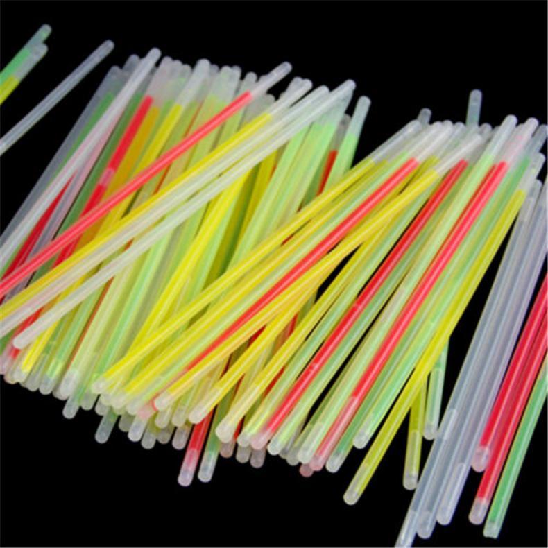 100x-8-Inch-Glow-Sticks-Bracelets-Necklaces-Fluorescent-Neon-Light-Sticks-Party thumbnail 4