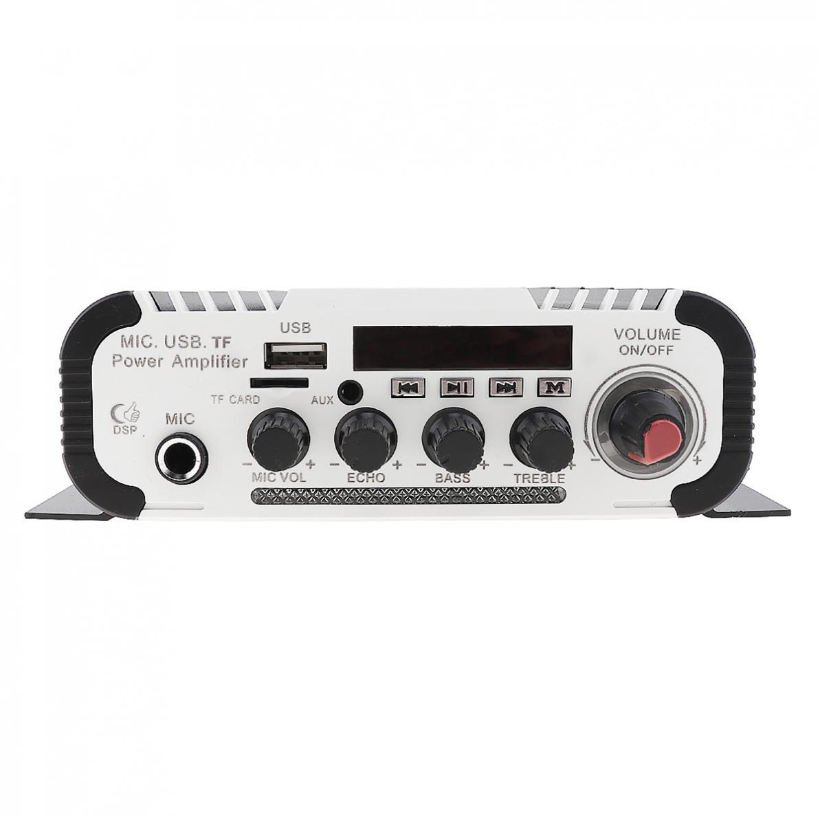 2CH-HI-FI-Bluetooth-Car-Audio-Amplifier-FM-Radio-SD-USB-MP3-Player-Home-Amp thumbnail 11