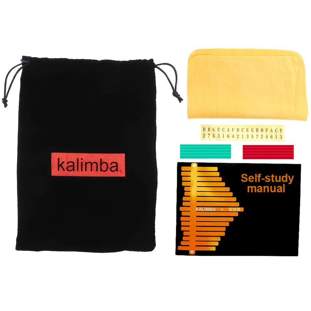 17-Key-Kalimba-Thumb-Piano-Mbira-Mahogany-Mini-Keyboard-Instrument-with-Flowers thumbnail 12
